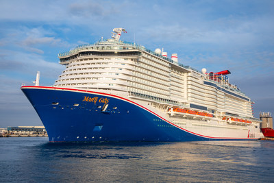 Mardi Gras, Carnival Cruise Line's Newest and Most Innovative Ship, Departs On Maiden Voyage From Port Canaveral This Afternoon