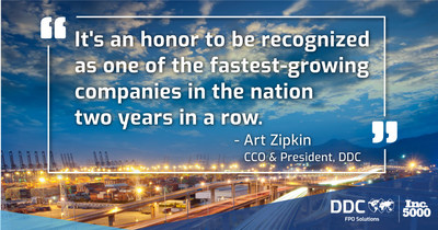 Quote from Art Zipkin, CCO & President, DDC