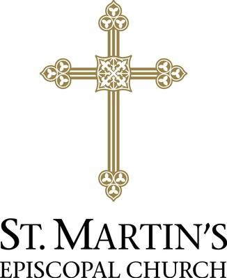 St. Martin's Episcopal Church Logo Vertical Color