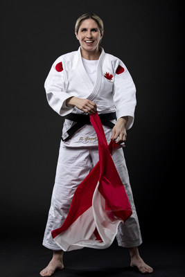 Para judo star Priscilla Gagné has been selected to represent Canada as flag bearer at the Tokyo 2020 Paralympic Games Opening Ceremony on August 24. PHOTO: Canadian Paralympic Committee (CNW Group/Canadian Paralympic Committee (Sponsorships))