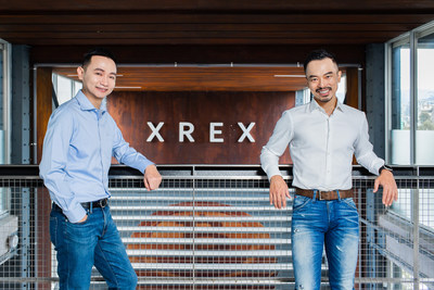 Co-founded by Wayne Huang(right) and Winston Hsiao(left), crypto-fiat fintech company XREX successfully raised $17 million in its Pre-A round.