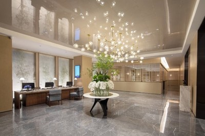 The lobby at Microtel by Wyndham Kunming City Center