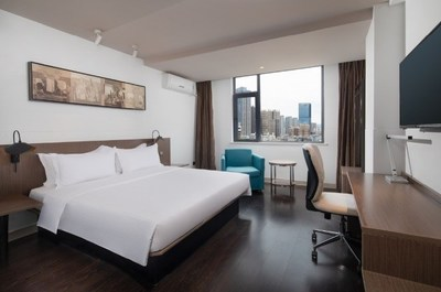 Microtel by Wyndham Kunming City Center's City View Double Bedroom