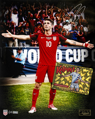 PANINI AMERICA SIGNS U.S. SOCCER SUPERSTAR CHRISTIAN PULISIC TO LONG-TERM EXCLUSIVE FOR AUTOGRAPHS AND MEMORABILIA